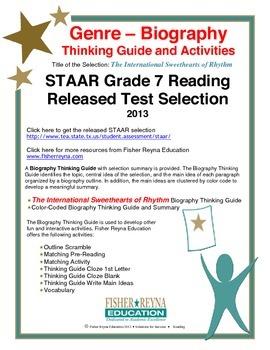 STAAR Release Analysis & Activities: International Sweethe