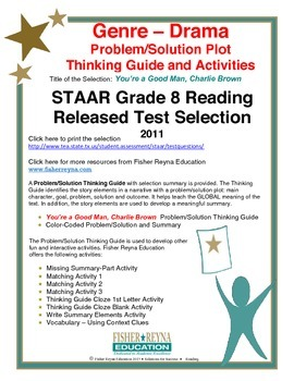 STAAR Release Analysis & Activities: You're a Good Man, Ch