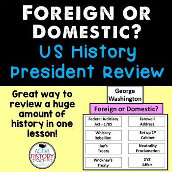 STAAR Review Social Studies - Presidential Foreign or Dome
