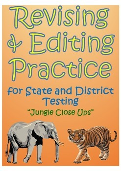 "STAAR Revising and Editing Practice- ""Jungle Close Ups"""