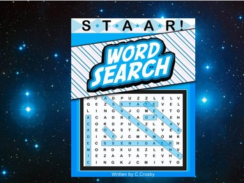 STAAR Science Vocabulary Word Search Workbook - Force, Mot
