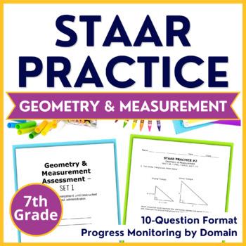 7th Grade Math STAAR Prep {Geometry & Measurement} TEKS 7.