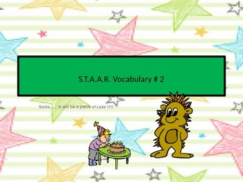 S.T.A.A.R. Vocabulary # 2