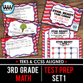 STAAR WARS 3rd Grade Math Task Cards ~ SET 1