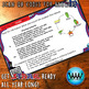 STAAR WARS 4th Grade Reading Task Cards ~ SET 5 ~ QR Code Version