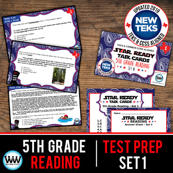 STAAR WARS 5th Grade Reading Task Cards ~ SET 1
