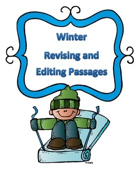 STAAR Winter Grammar Passages: Revising Passage and Editin