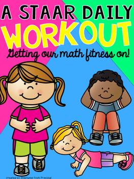 STAAR Workout- Getting our Math Fitness On! Grade 3