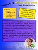 STAAR Writing Boot Camp - English I and II