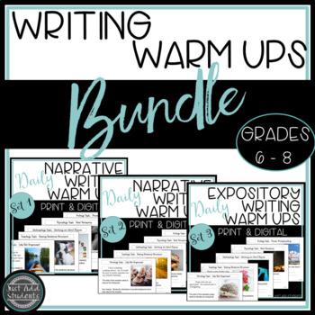 STAAR Writing:  Daily Editing Warm Ups {Bundle!} Sets 1, 2 & 3