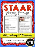 STAAR Writing Prompts- Grade 4