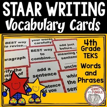 STAAR Writing Vocabulary
