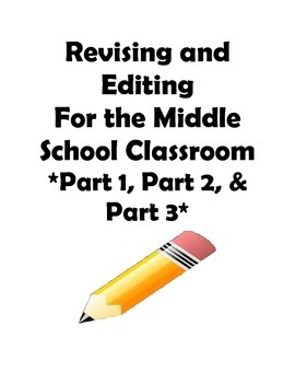 STAAR and Common Core- Revising and Editing Practice-Part
