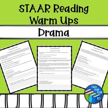 STAAR-like Reading Warm ups - Drama