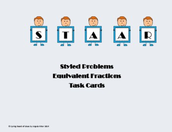 STAAR styled Equvialent Fractions