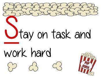 Popcorn Classroom Rules