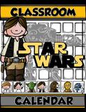 STAR WARS CLASSROOM CALENDAR Numbers & Monthly Headers