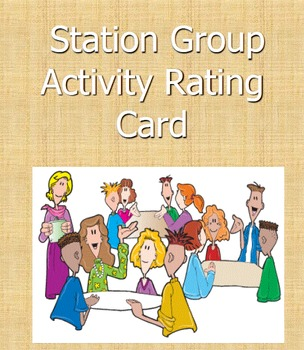 STATION GROUP ACTIVITY RATING CARD