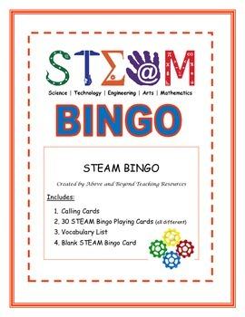 STEAM Bingo