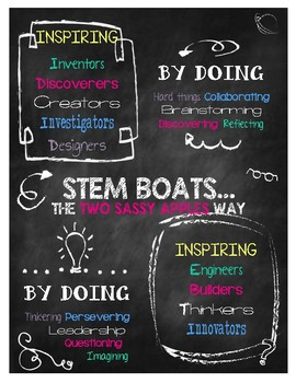 STEAM Boats STEM