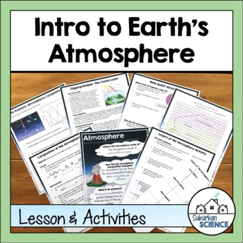 STEAM Bundle: Earth's Atmosphere- Composition & Layers