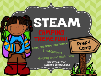 STEAM Camp Pack Living and Non Living Science and More!