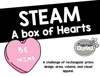 STEAM Challenge: A Box of Hearts (Printables) Valentine, A