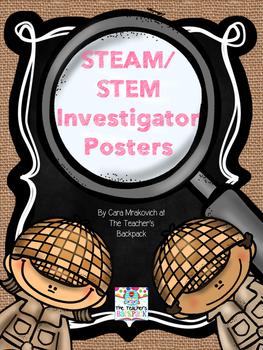 STEAM/STEM Investigator Posters