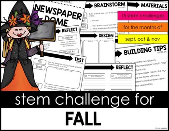 STEM Activity - 15 Challenges - Fall