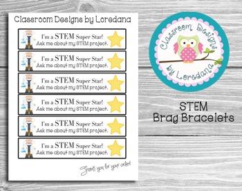 STEM Brag Bracelets