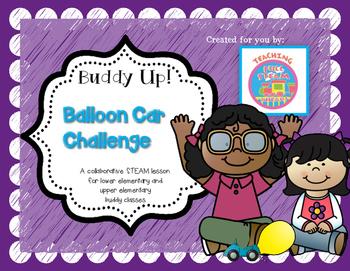 STEM Buddy Challenge: Buddy Up! Balloon Car Challenge