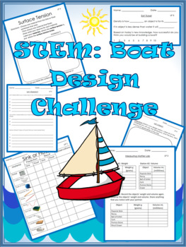 STEM Build a Boat Design Challenge-Cross Cirricular