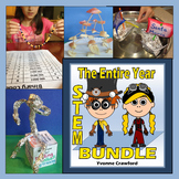 STEM CHALLENGES for the WHOLE SCHOOL YEAR GROWING BUNDLE -