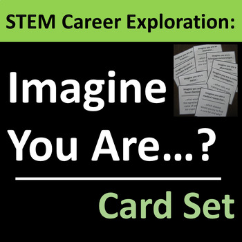 STEM Career Exploration Card Set Group Activity