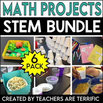 STEM Activities Challenge 6 Pack Bundle featuring Math Skills