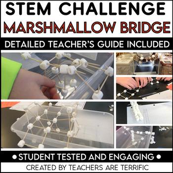 STEM Activity Challenge: Bridges with Marshmallows