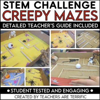 STEM Activity Challenge Build a Haunted House Maze