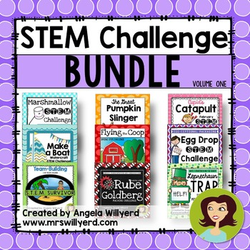 STEM Challenge Bundle Volume 1 - SMART Notebook - Grades 5-8