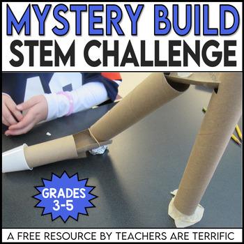 STEM Challenge FREEBIE- Mystery Build