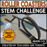 STEM Engineering Challenge: Roller Coasters!