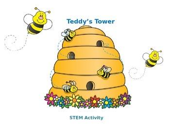 STEM Challenge - Teddy's Tower - Index Card Challenge
