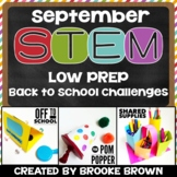 STEM Challenges for September
