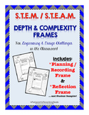 STEM Depth and Complexity Frames for Planning, Recording,