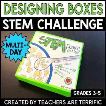 STEM Engineering Activity Designing a Box Using Volume and