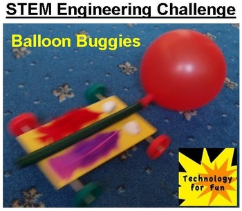 STEM Engineering Challenge - Balloon Buggies