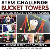 STEM Activity Challenge Bucket Towers