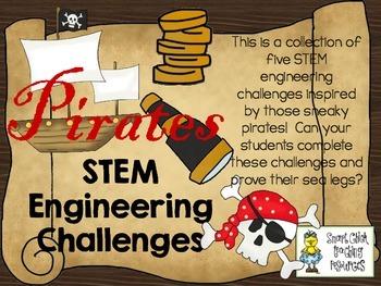 STEM Engineering Challenge Pack ~ ARGH! Pirate Challenges