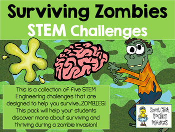 STEM Engineering Challenge Pack ~ Surviving Zombies! ~ Set