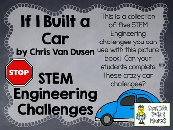 STEM Engineering Challenge Picture Book Pack ~ If I Built
