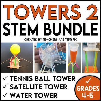 STEM Engineering Challenge Bundle Towers 2!
